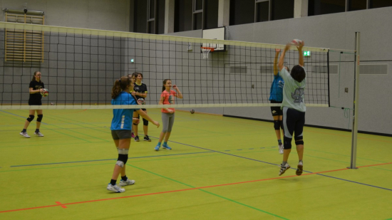 Jugend-Volleyball