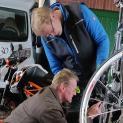 Radsportler : Techniknachmittag